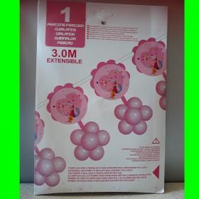 Girlanda z balonikami -róż-3 m