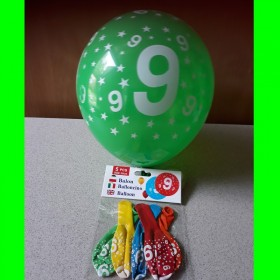 Balon cyfra-9-