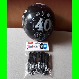 Balon cyfry-40-kolorowe