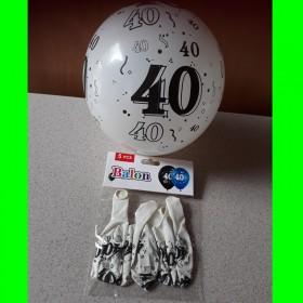 Balon -biały -40