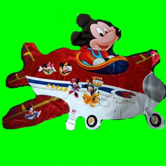 Balon Myszka w samolocie 80 cm