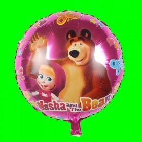 Balon Masza i Niedźwiedź   18 cali