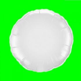 Balon białe koło