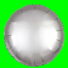 Balon srebrne koło-45 cm
