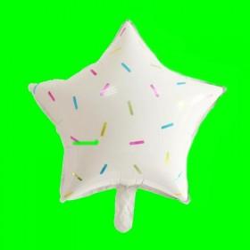 Balon Gwiazdka z posypką