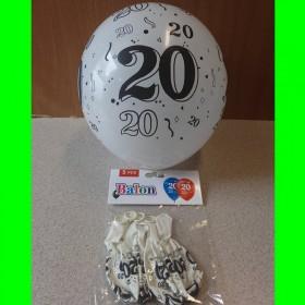 Balon cyfry-20-