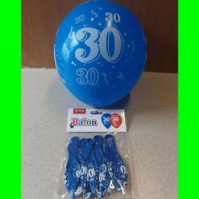 Balony cyfry-30-