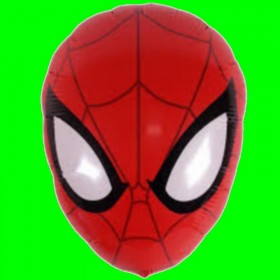 Balon Głowa Spidermana