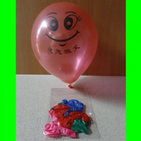 Balon kolorowe minki - 10 szt.