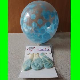 Balon z konffeti-3 szt