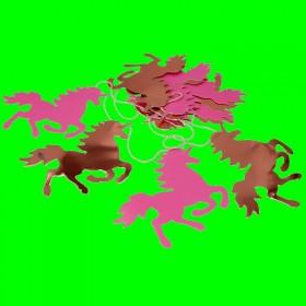 Girlanda Jednorożce złoto-różowe - 2m
