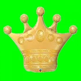 Balon korona złota