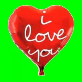 Balon czerwony love