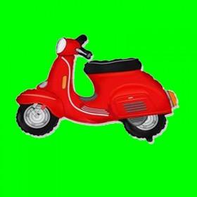 Balon skuter czerwony