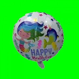 Balon syrenka HAPPY