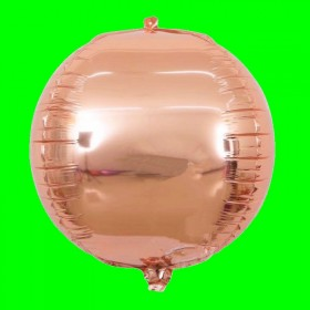 Balon koło 3-D-różowe złoto