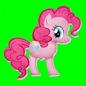 Balon pony różowy 90 cm
