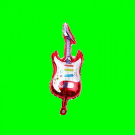 Balon gitara czerwona