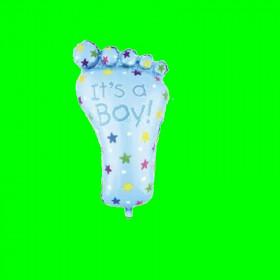 Balon stópka niebieska