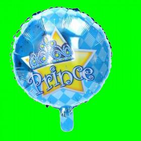 Balon  princess niebieski 45 cm