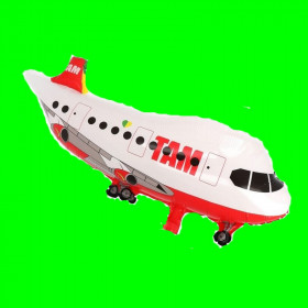 Balon samolot TOM czerwony 80 cm