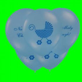 Balon niebieski -mały chłopiec -op-6 szt