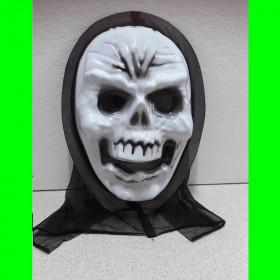 Maska-kościotrup-biały