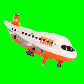 Balon Samolot TOM pomarańczowy 80 cm
