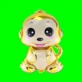 Balon małpka żółta