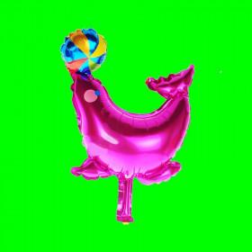 Balon foka różowa-30 cm