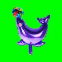 Balon foka fioletowa-14 cali