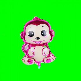 Balon małpka fiolet-30 cm
