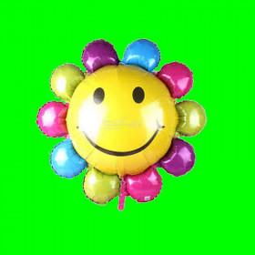 Balon kwiatek kolorowy- 14 cali