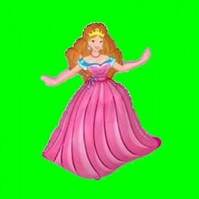 Balon włoski  księżniczka-30 cm