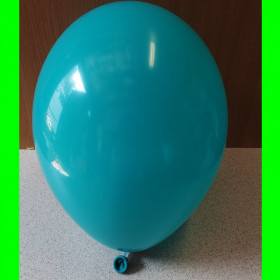 "Balon turkusowy-12""-1szt"