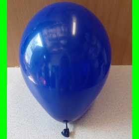 "Balon granatowy-12""-1szt"