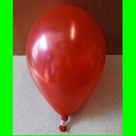 """Balon perłowy czerwony-12""""-1szt"""