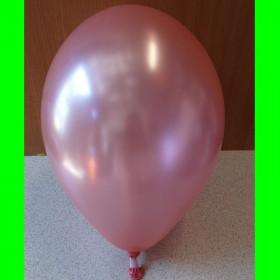 """Balon perłowy różowy-12""""-1szt"""