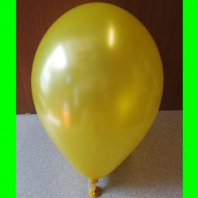 """Balon perłowy żółty-12""""-1szt"""