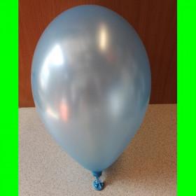 "balon perłowy błękitny-12""-1 szt"