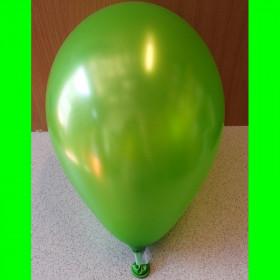 """Balon perłowy zielony-12""""-1szt"""