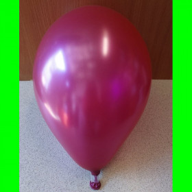 "Balon perlowy bordowy-12""-1szt"