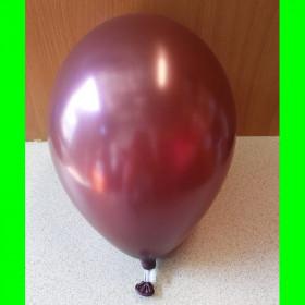 """Balon perłowy burgundowy-12""""-1szt"""