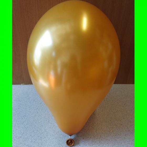 """Balon perlowy złoty-12"""""""