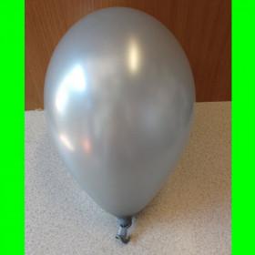 "Balon perłowy srebrny-12"""