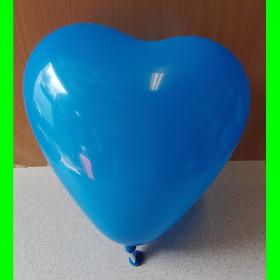 balon serce niebieskie-30cm-1szt