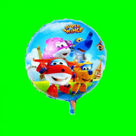Balon  super wings -18 cali