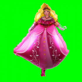 Balon księżniczka-różowa