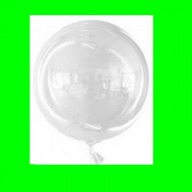 Balon transparentny 60 cmi bubbles