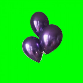 Balony chrom fiolet - 30 cm-op. 3 szt